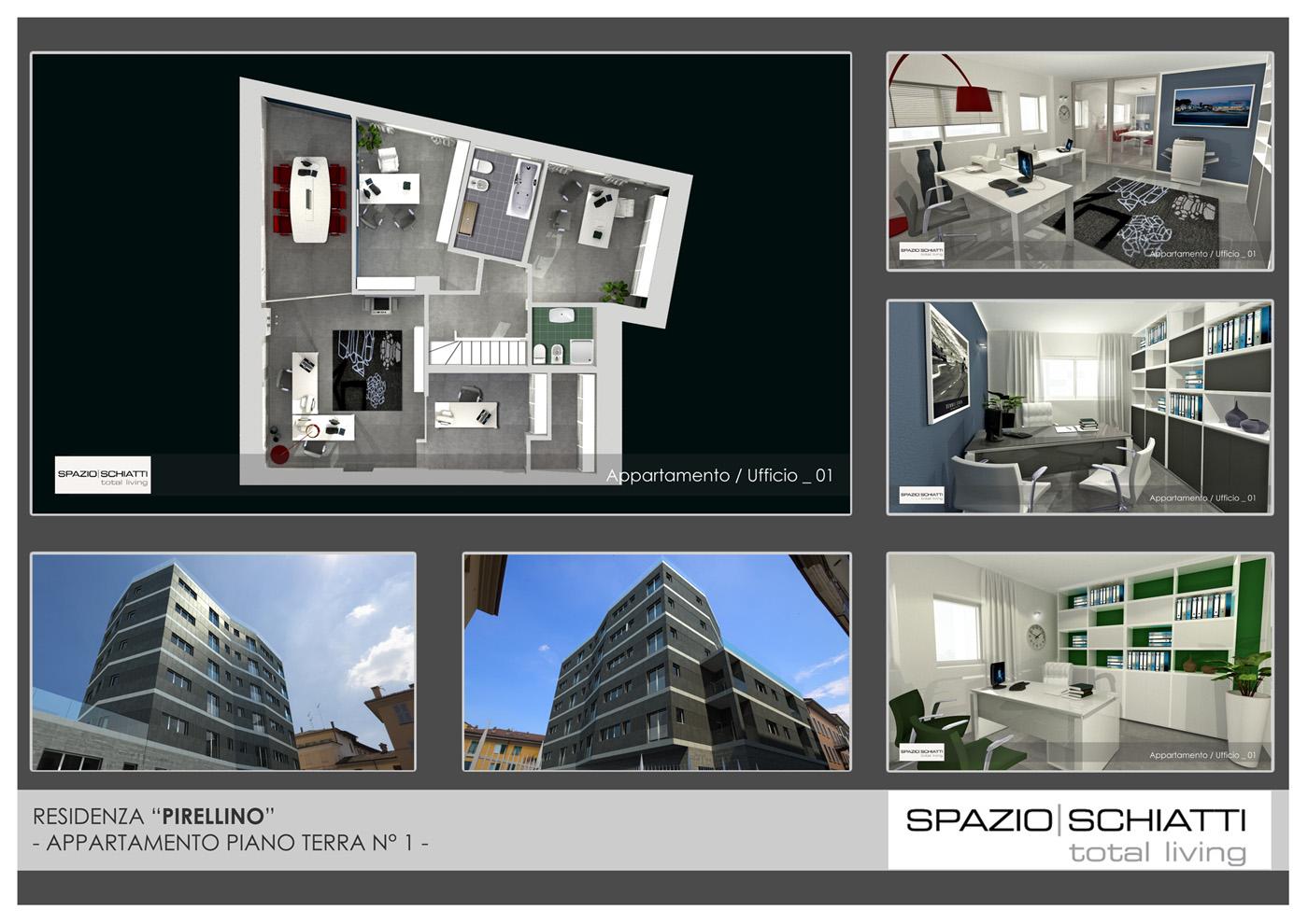 Casa 80 Mq Pianta appartamenti disponibili